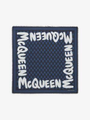 McQueen Graffiti Biker Scarf