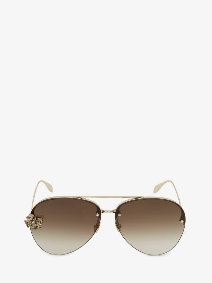 Butterfly Jewelled Sunglasses