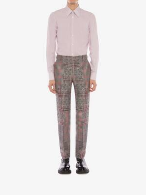 Patchwork Prince of Wales Trousers