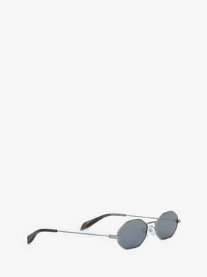 Piercing Octagonal Sunglasses