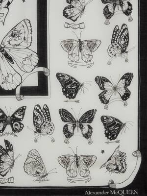 Inked Butterfly Shawl
