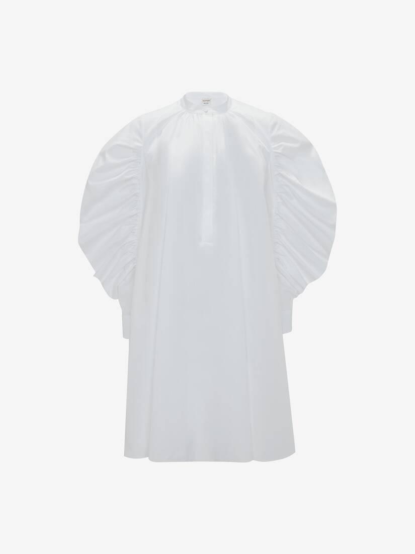 Cotton Poplin Harness Mini Dress