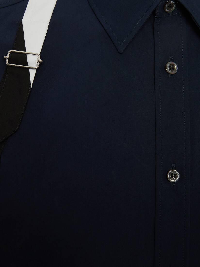 Spliced Harness Shirt