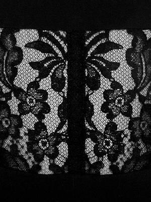 Robe crayon avec corset dentelle