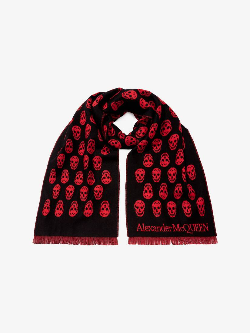 Display a large version of the product image 3 - Reversible Skull Scarf