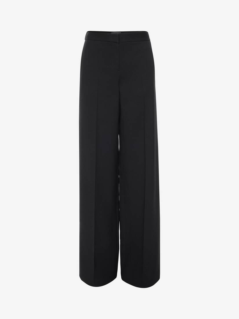 Display a large version of the product image 1 - Wide Leg Trouser