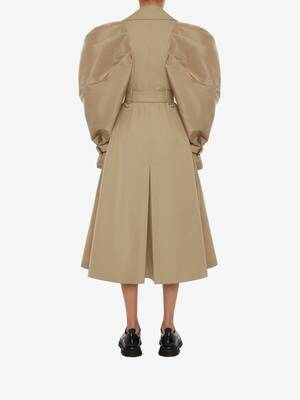 Hybrid Exploded Trench Coat