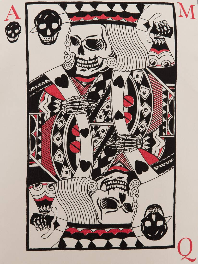 Display a large version of the product image 5 - T-Shirt King of Hearts Skull