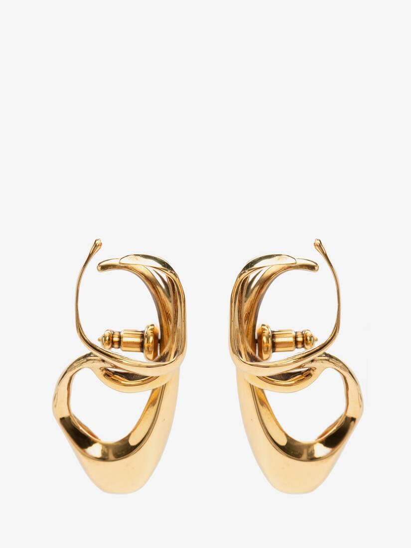 Afficher une grande image du produit 2 - Bijou d'oreille triple