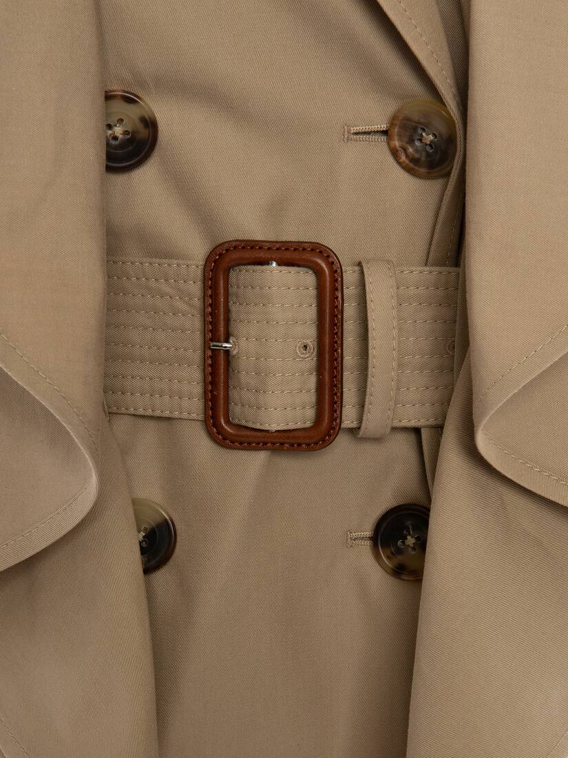 Display a large version of the product image 5 - Trenchcoat mit Schößchen