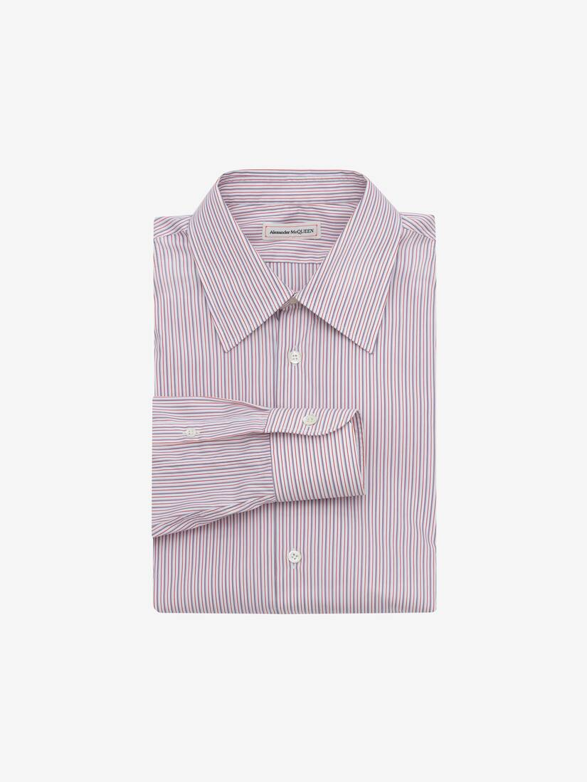 Display a large version of the product image 1 - Point Collar Cotton Poplin Shirt