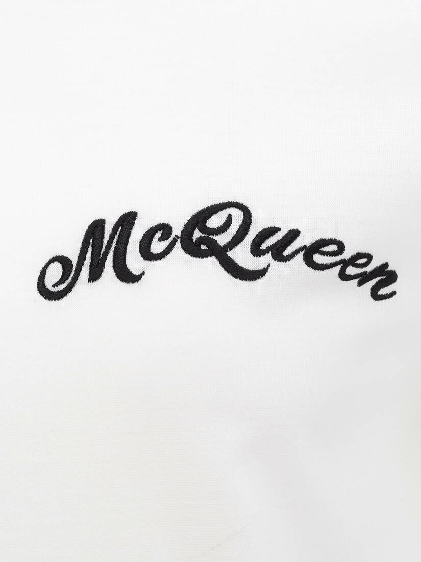 Display a large version of the product image 5 - McQueen Embroidery T-Shirt