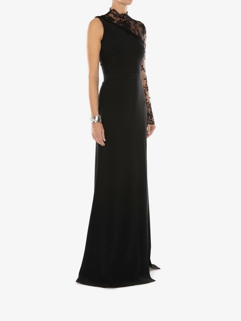 Display a large version of the product image 3 - Lace Evening Dress