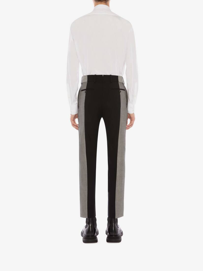 Display a large version of the product image 5 - Paneled Tailored Pants