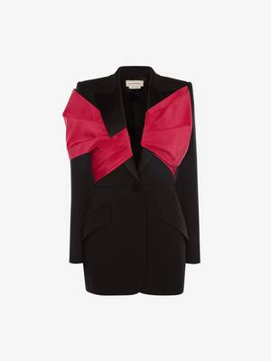 Exploded Bow Drape Jacket