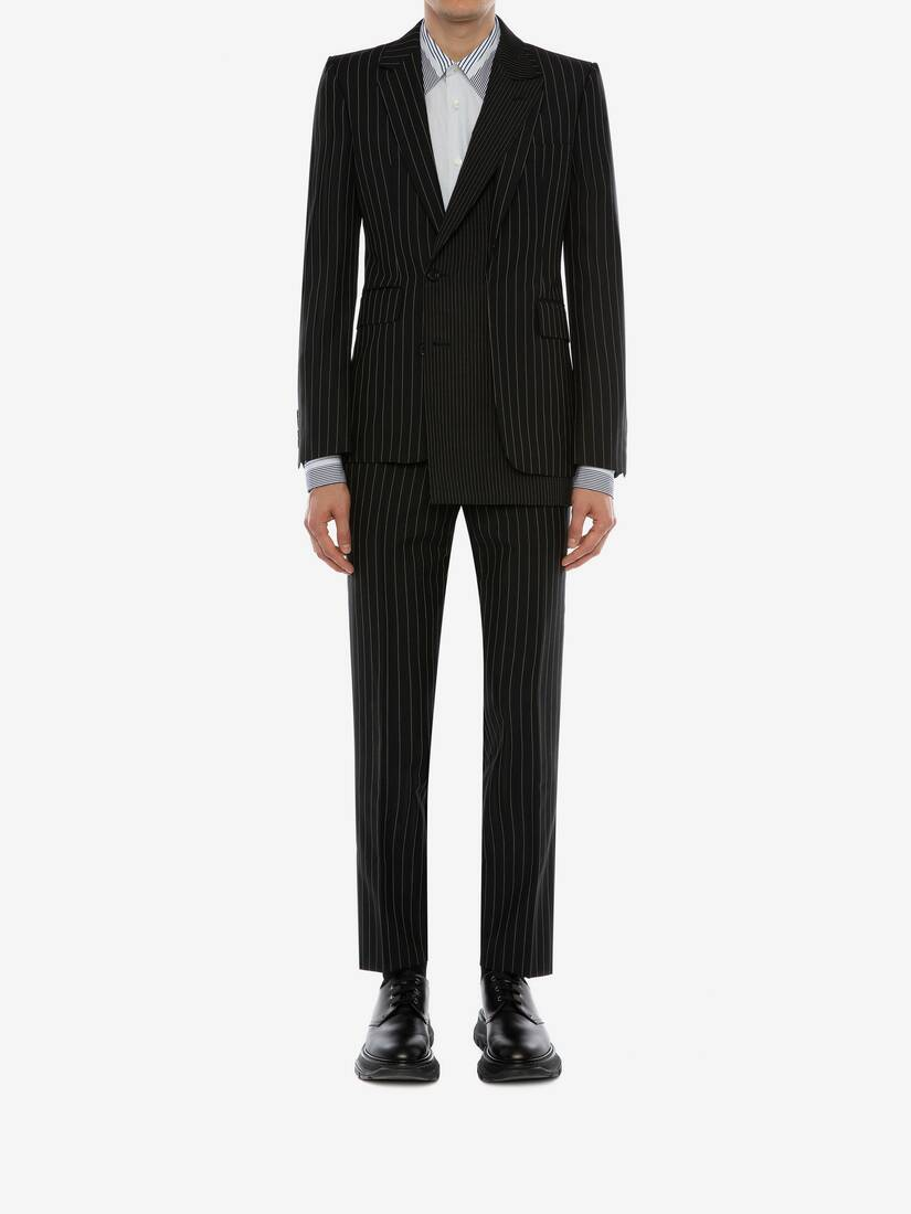 Display a large version of the product image 2 - Pinstripe Trousers