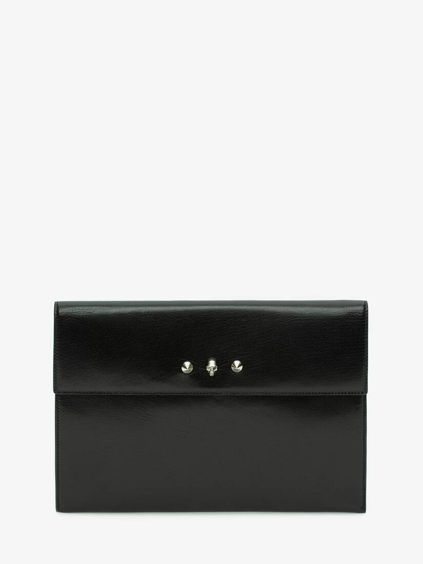 Display a large version of the product image 1 - Skull and Stud Envelope Clutch