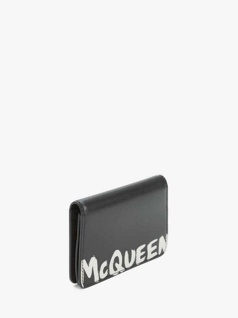 Display a large version of the product image 2 - McQueen Graffiti Business Card Holder