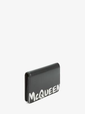 McQueen Graffiti Business Card Holder