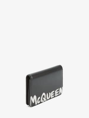 McQueen 그래피티 비즈니스 카드 홀더