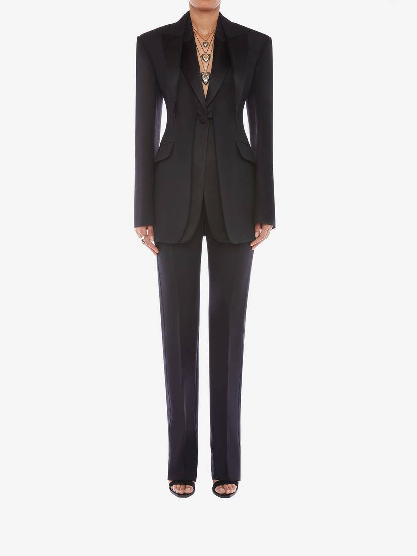 Display a large version of the product image 2 - Double Duchesse High Waisted Trouser