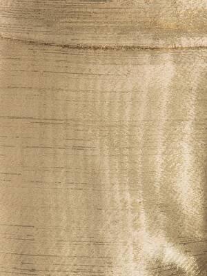 Metallic Moiré Cigarette Trouser