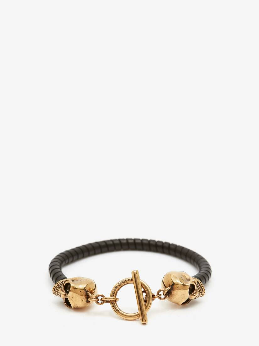 Display a large version of the product image 1 - T Bar Skull Bracelet