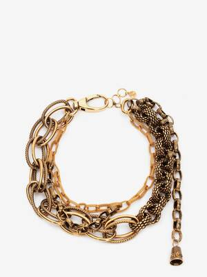 Multi Chain Mesh Necklace