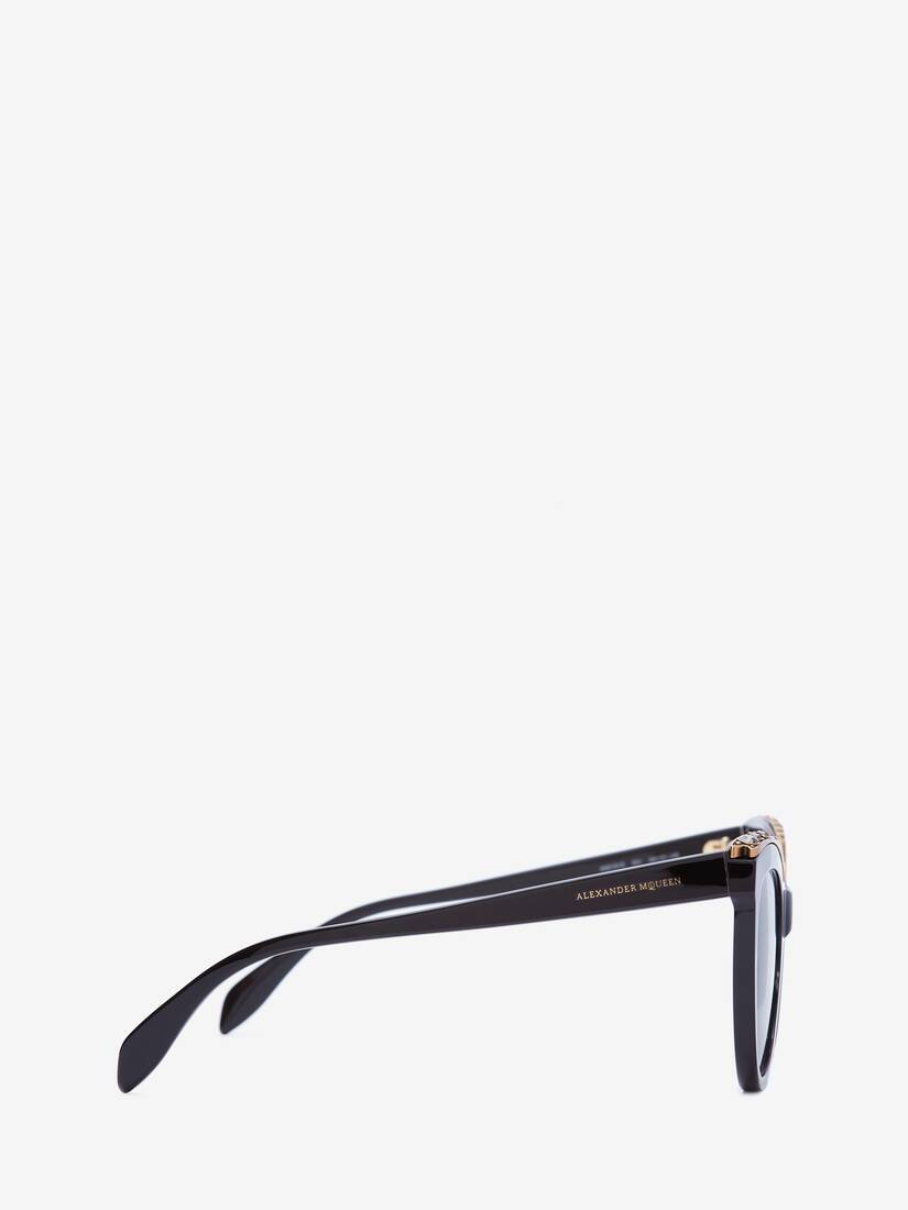 Display a large version of the product image 2 - Jewelled Cat-Eye Sunglasses