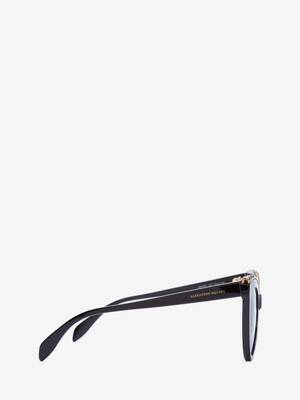 Jewelled Cat-Eye Sunglasses