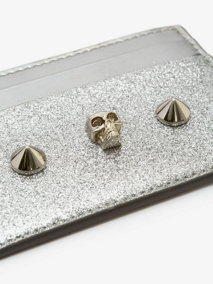 Display a large version of the product image 4 - Skull and Stud Cardholder