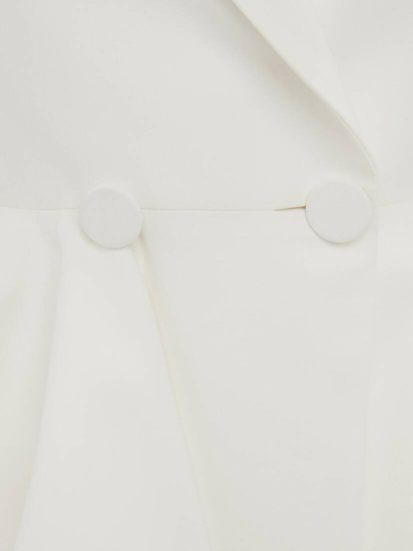 Double Breasted Peplum Jacket