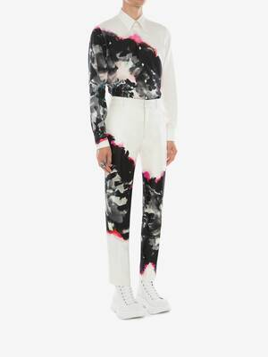 Ink Floral Trousers