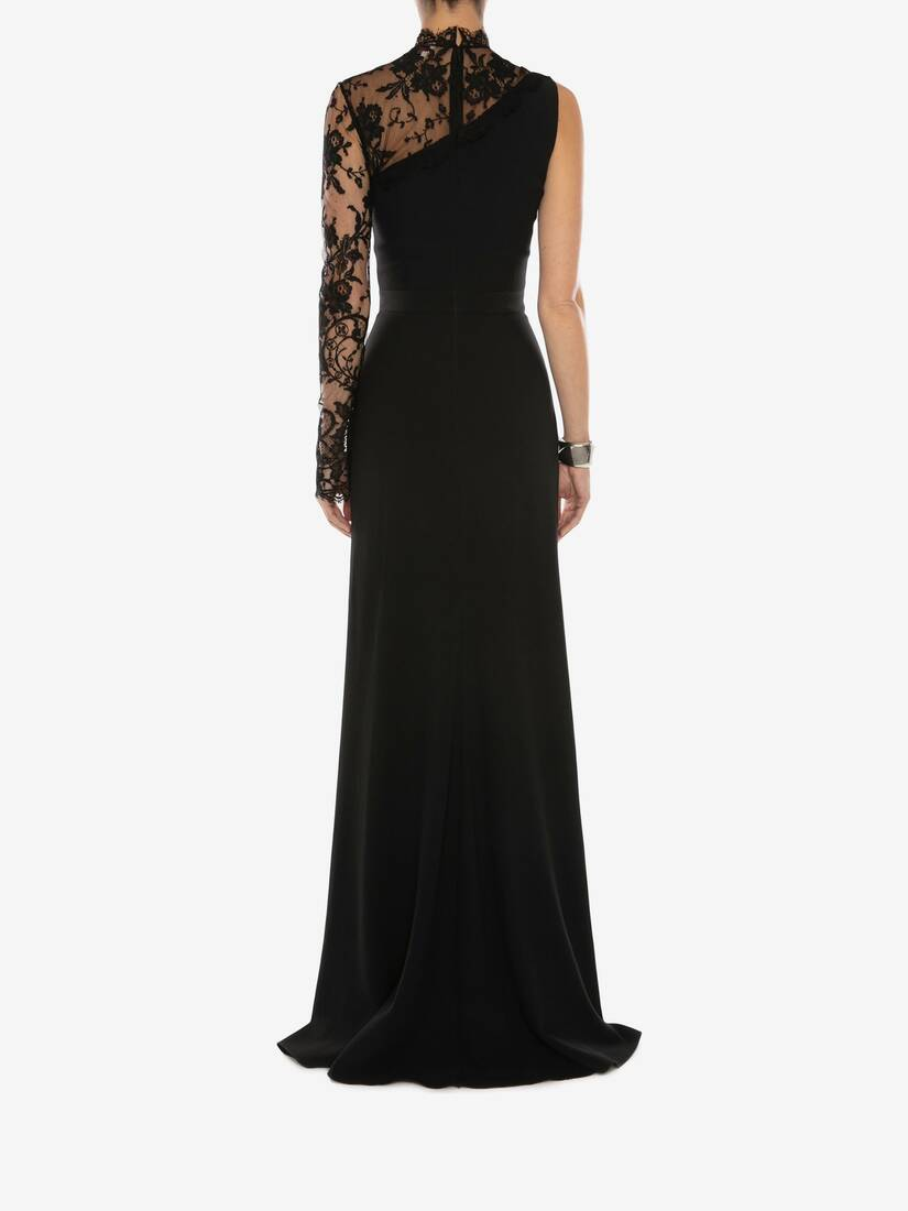 Display a large version of the product image 4 - Lace Evening Dress