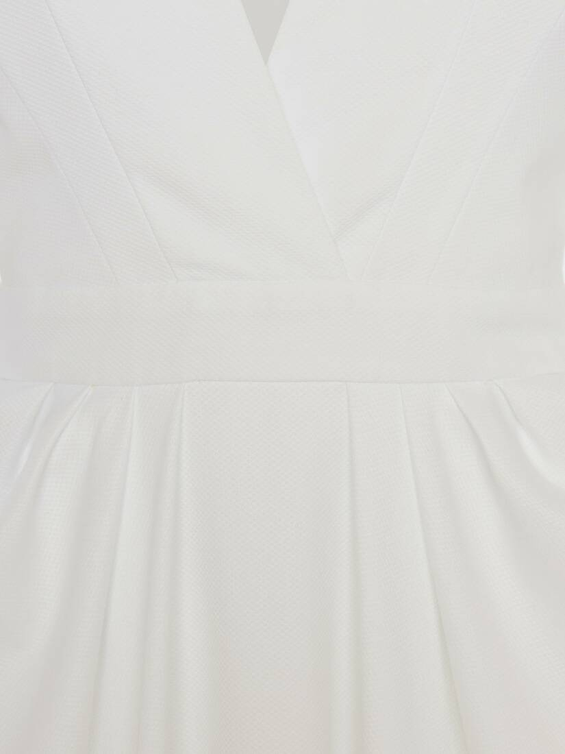 Display a large version of the product image 5 - Cotton Piquet Midi Dress