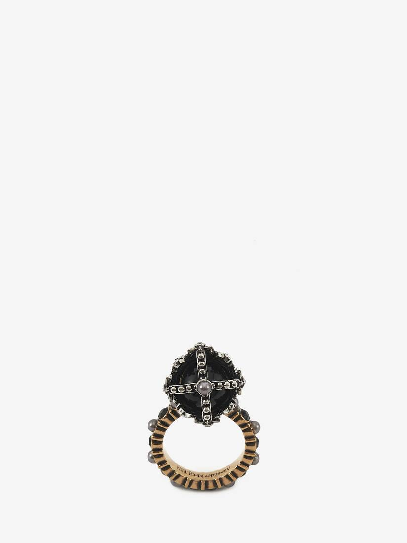 Display a large version of the product image 3 - Queen Skull Ring