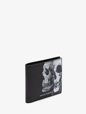 Torn Skull Billfold Wallet