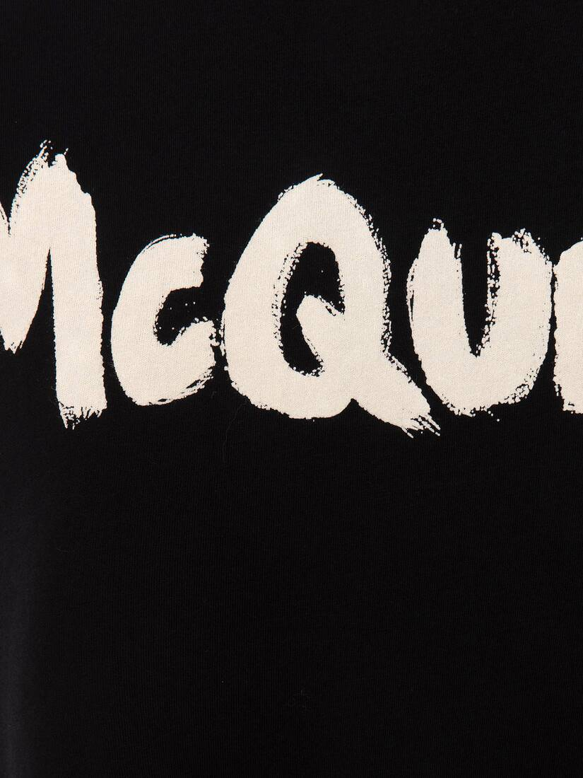 Display a large version of the product image 5 - McQueen Graffiti T-Shirt