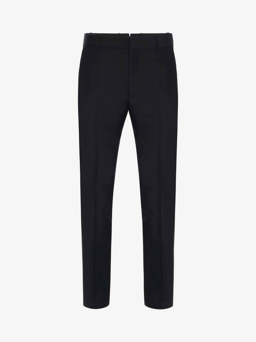 Display a large version of the product image 1 - Fitted Tailored Trousers