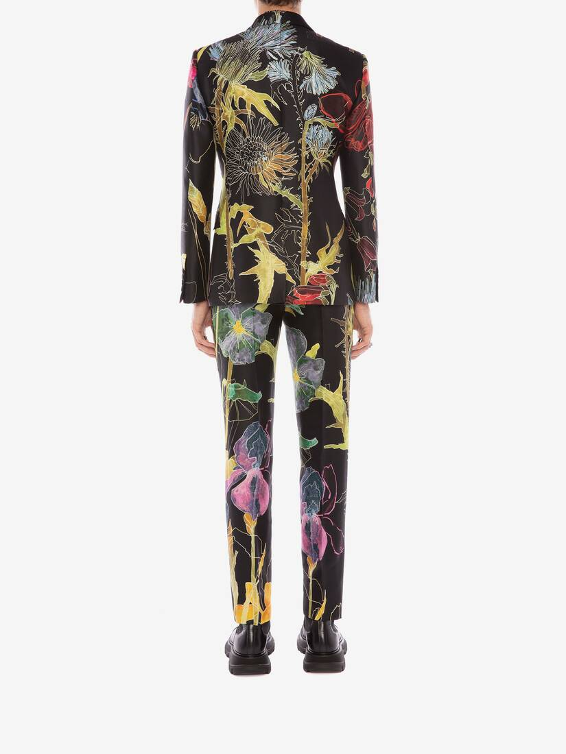 Display a large version of the product image 4 - Deconstructed Floral Trousers