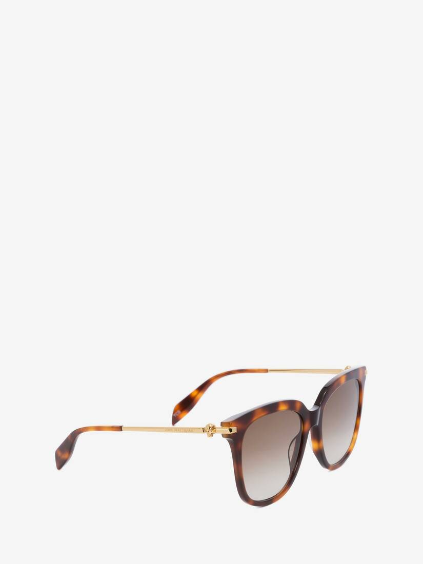 Display a large version of the product image 3 - Skull Square Acetate Sunglasses