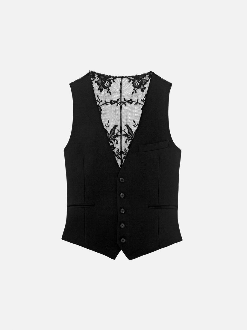 Display a large version of the product image 1 - Lace Waistcoat