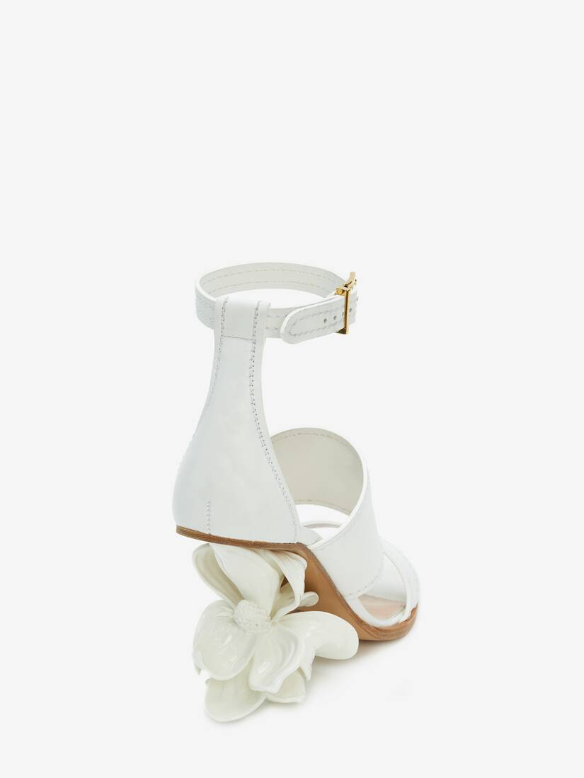 Display a large version of the product image 3 - No.13 Flower Wedge Sandal