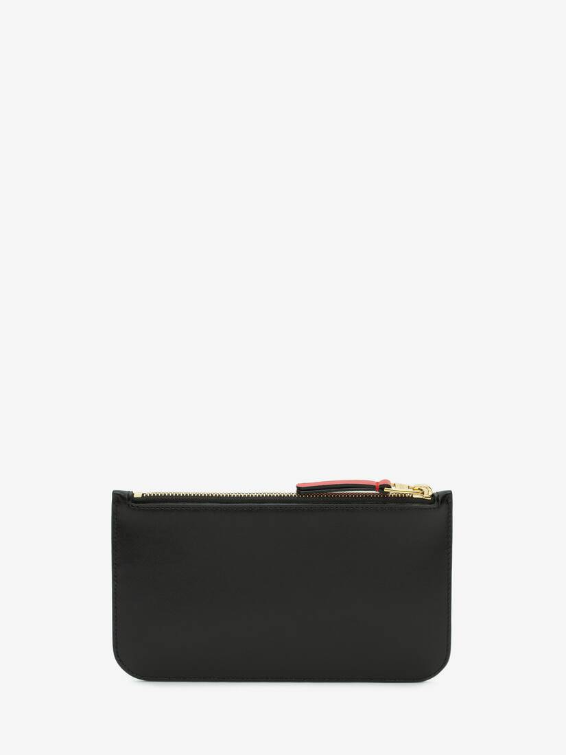 Signature Flat Zip Wallet