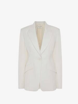 레이스 인서트 재킷