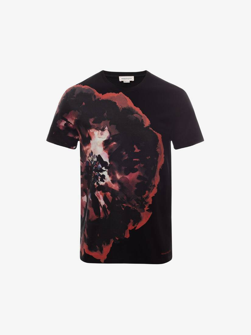 Display a large version of the product image 1 - Ink Floral T-Shirt