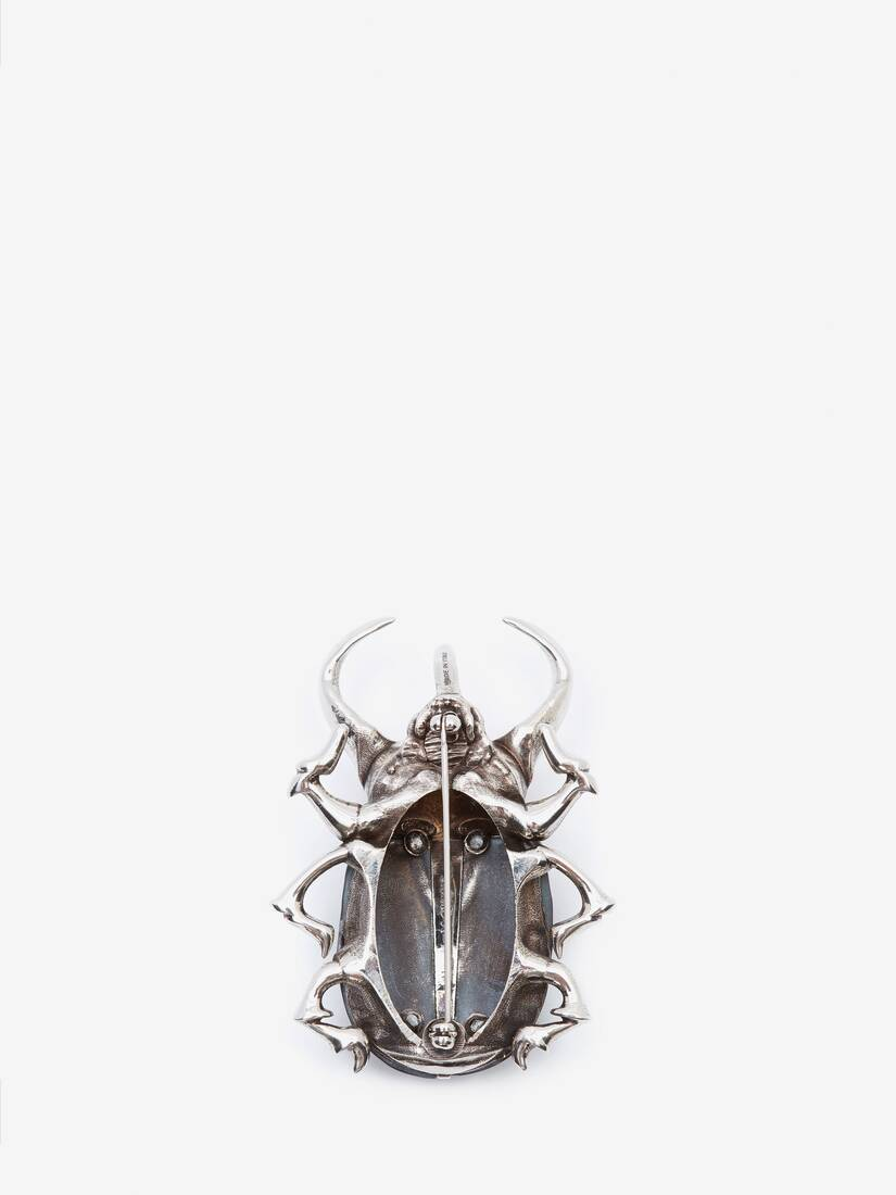 Display a large version of the product image 2 - Beetle Skull Brooch
