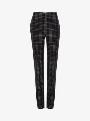 Welsh Check Cigarette Trouser