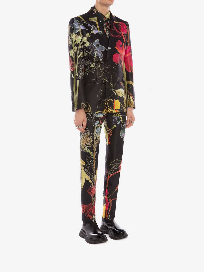 Display a large version of the product image 3 - Deconstructed Floral Trousers