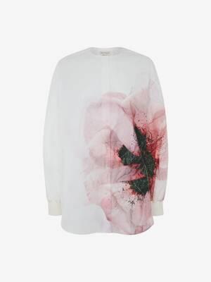 Anemone collarless shirt